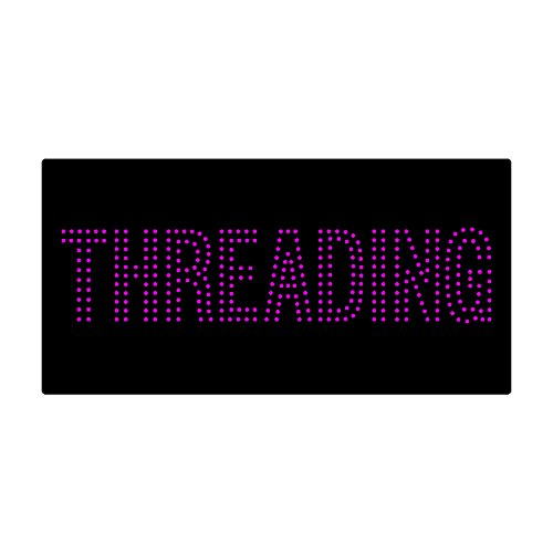 LED Treading Light Sign Super Bright Electric Advertising Display Board for Eyebrow Facial Waxing Nails Spa Pedicure Message Business Shop Store Window Bedroom 24 x 12 inches by HIDLY