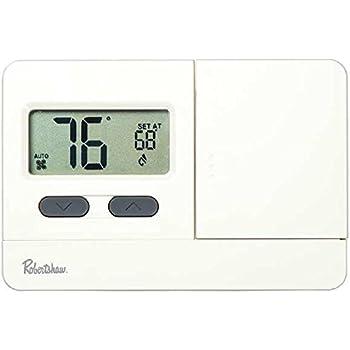 robertshaw rs3110 1 heat 1 cool digital 5 2 day programmable robertshaw rs2110 heat cool digital thermostat