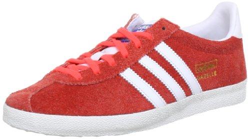 adidas Originals Gazelle OG Q23176, Sneaker Uomo Rosso (Rot (Infrared / Running White Ftw / Metallic Gold)