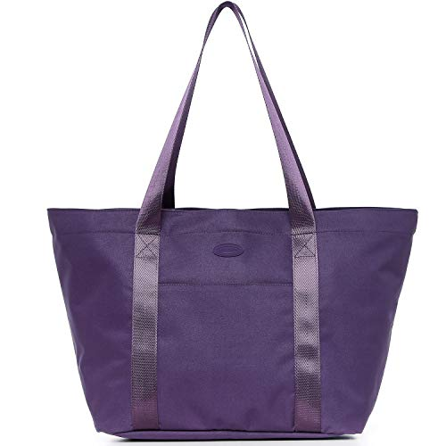 (Nylon Family Travel Tote Beach Bag with Zipper for Women, Teacher or Nurse)