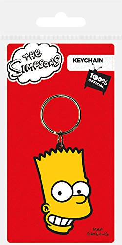 Pyramid International Llavero los Simpsons Bart: Amazon.es ...