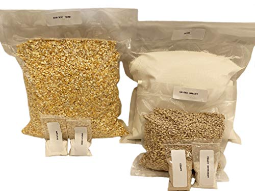 Genuine North Georgia Still Company Complete Cracked Corn, Malted Barley Whiskey Mash & Fermentation Kit (Best Corn Whiskey Recipe)