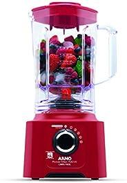 Liquidificador Power Max 700 Limpa Fácil Ln61 Arno Power Mix Limpa Fácil Vermelho 110v
