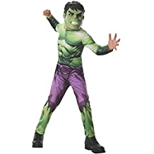 Rubies Costume Marvel Universe Classic Collection Avengers Assemble Incredible Hulk, Child Large