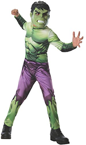 Hulk Costume Girl Incredible (Rubies Marvel Universe Classic Collection Avengers Assemble Incredible Hulk Costume, Child)