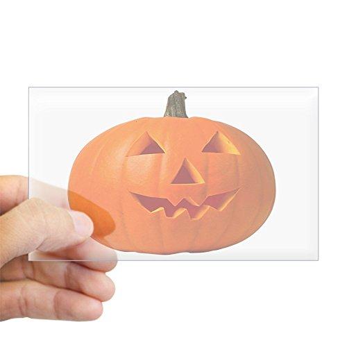 Holiday Car Costumes Review (CafePress - Halloween Pumpkin Rectangle Sticker - Rectangle Bumper Sticker Car Decal)