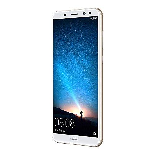 Huawei Nova 2i (RNE-L02) 4GB / 64GB 5.9-inches Factory Unlocked - International Stock No Warranty (Prestige Gold)