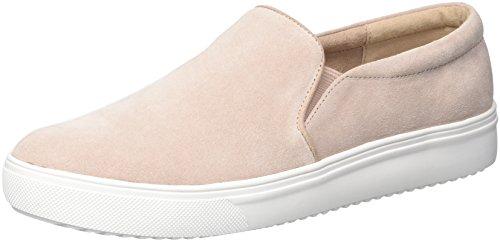 (Blondo Women's Gracie Waterproof Sneaker Light Pink Suede 8 M US)