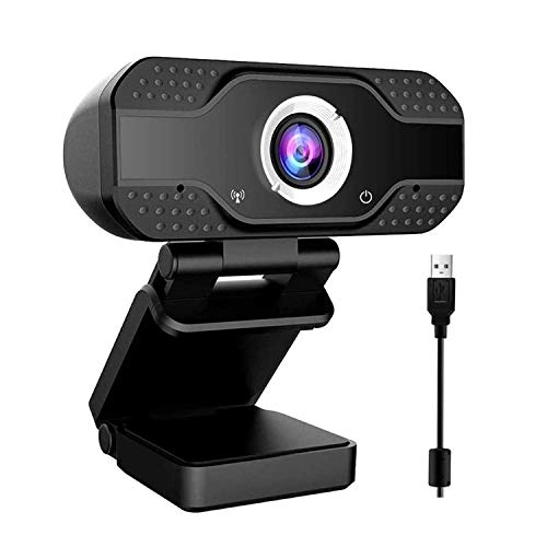 Innoo Tech Webcam,Web camera with Microphone Plug and Play for Video Calling Online study Conference