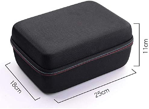 tianluo Travel Storage Bag Hard Eva Storage Case Bag for Headset Accessories Protective Travel Carry Box Cover Bags Water-Resistant Cases