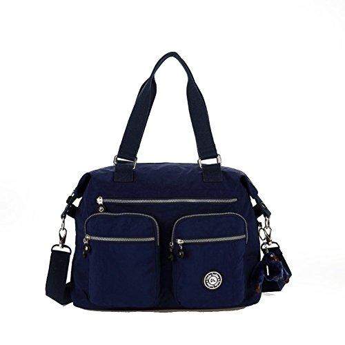 HIFISH HB110011C7 Nylon Korean Version Women's Handbag,Square Cross-Section Kelly Bag