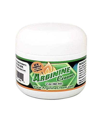 L-Arginine Cream - Libido Enhancer for Women and Men - Supports Increased Blood Flow for Improved Circulation, Enhanced Performance, and Sensitivity (2 Ounces)