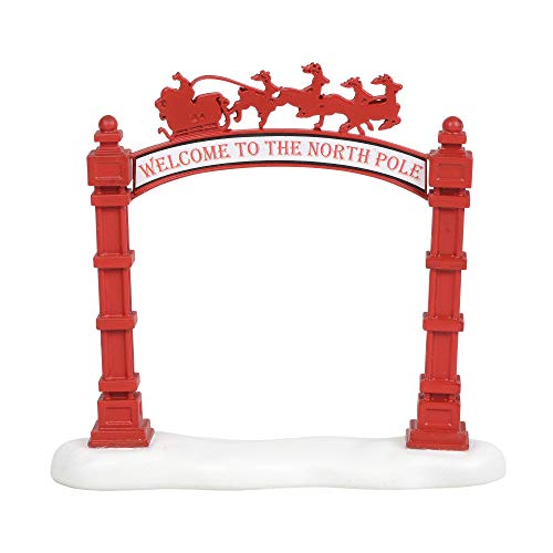 Department 56 Village Collections Accessories North Pole Archway Figurine, 5