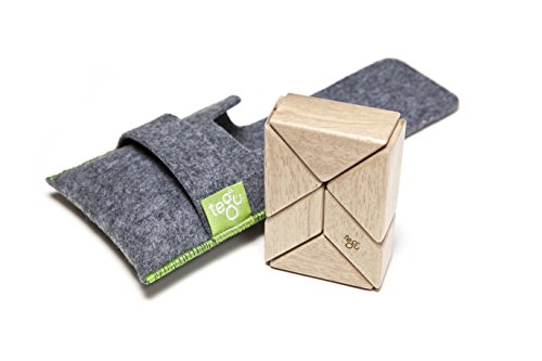 6 Piece Tegu Pocket Pouch Prism Magnetic Wooden Block for sale  Delivered anywhere in USA