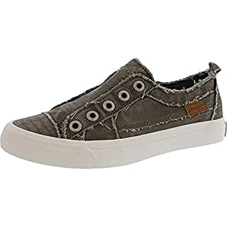 Blowfish Malibu Women's Play Sneaker (10 M US, Steel Grey)
