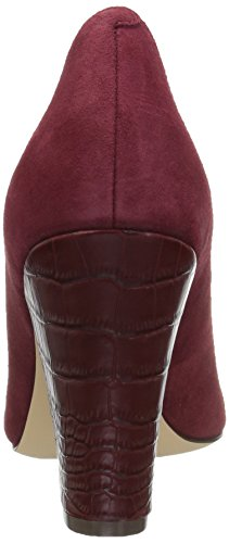 Nine West Women's Scheila Suede Dress Pump Oxblood discount amazon nYEyS