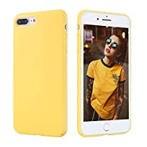 AQTCompatible iPhone 7 Plus and iPhone 8 Plus Case - Hard Shell Cover Plastic Protective Shockproof Phone Case Slim Fit Full Protective Anti-Scratch Resistant for 5.5 inch Screen
