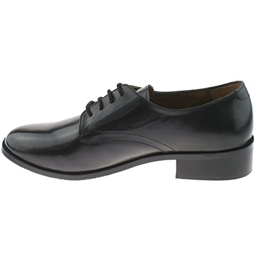 para negro Grafters negro cordones de Zapatos mujer 8xxaZ70