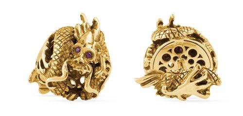 montegrappa-gold-dragon-cufflinks
