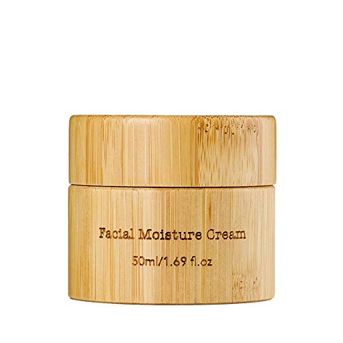 Organic Facial Moisture Cream Enriched with Hemp Seeds Oil and Ultra Moisturizing Hyaluronic Acid - Anti Aging & Wrinkle | Hydrates Skin | Contains Omega 3 & 6 Fatty Acids, Jojoba Oil and Shea Butter