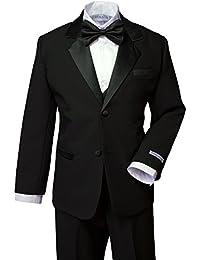 Boys' Classic Fit Tuxedo Set, No Tail