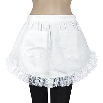 Aspire Women's Waist Apron Victorian Maid Costume