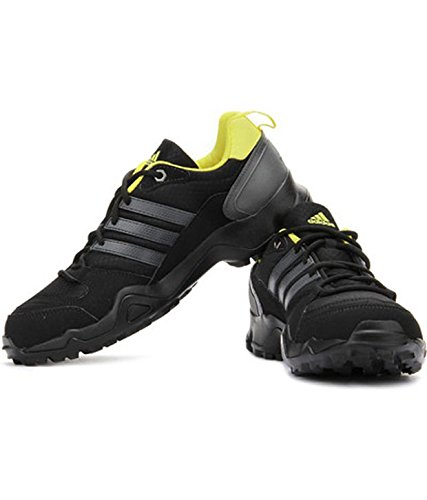 adidas Zetroi Hiking & Trekking Shoes (Black/ Yellow) - 7 UK Trekking & Hiking Footwear at amazon