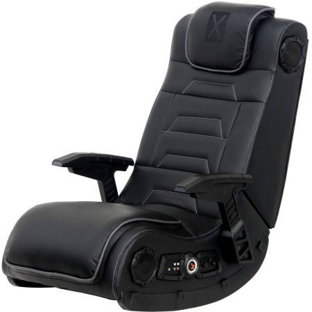413yiAe%2BZdL - PC Gaming Chair, Wireless Audio, Leg - Free