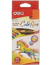 Deli, EC200 Deli Oil Pastel, Pack of 12