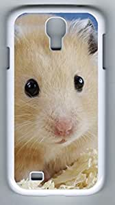 Golden Hamster Mesocricetus Auratus Hard Cover Back Case For Samsung Galaxy S4,PC White Case for Samsung Galaxy S4 i9500