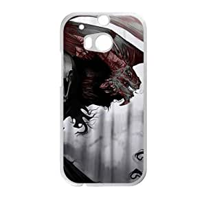 Monster personalized creative custom protective phone case for HTC M8
