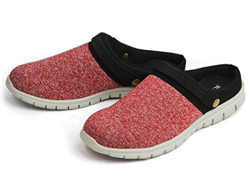 冷ややかな声を出して発症LIBERTY LOOK(リバティールック) サボサンダル メンズ クロッグ サンダル スリッポン 2way ニット メッシュ シューズ 靴