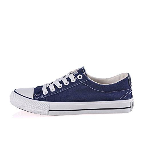 Clásico par de lona de color claro/Zapatos de mujer/ Coreanos bajo transpirable zapatos casuales de plano/Zapatos del tablero/escoge los zapatos D