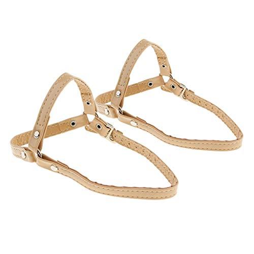 5 Chaussure 23 De Prettyia Beige Sangles Pièces Cheville Cm 12 Amovibles Longue À Courroie Clair P Courte 2 4qUp47