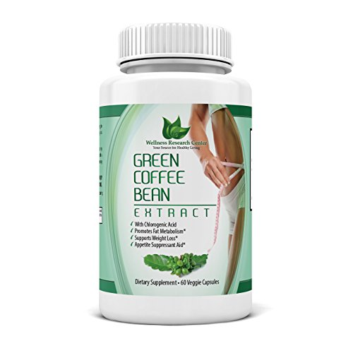 ★ Green Coffee Bean Extract 800 with GCA® ★100% Pure Organic Natural Weight Loss Supplement ★60 Count ★ 50% Chlorogenic Acid ★ Dr Oz Recommended ★ Better Than 100% Money Back Guarantee ★ Made in USA