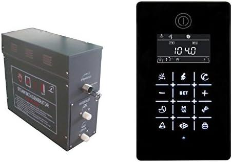 Generador de vapor 9 kW Vapor ducha ducha baño sauna Vapor gs08 – 117u: Amazon.es: Bricolaje y herramientas