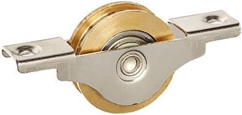 1.3 inch diameter single roller double bearing window pulley