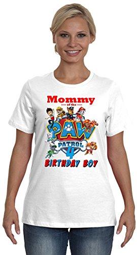 Paw Patrol Birthday Shirt FAMILY Boy