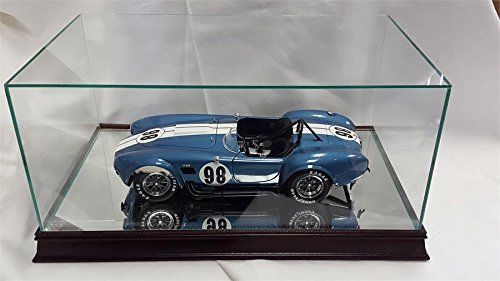 The 1:12 Scale Glass and Wood Display Case for Scale Model ()