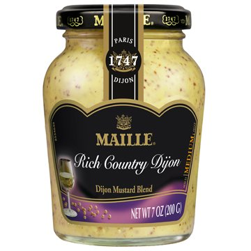 Maille Mustard Dijon Rich Country, 7 oz