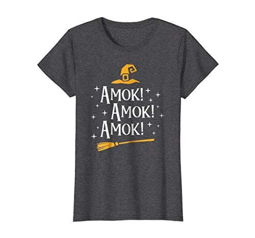 Amok Amok Amok T Shirt Cute Costume Idea Sisters Halloweens for $<!--$16.99-->
