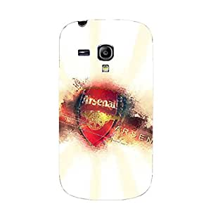 3D Shell Perfect Modish Arsenal FC Phone Case for Samsung Galaxy S3 Mini ARS Logo Printed Case