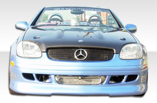 1998-2000 Mercedes Benz SLK R170 Duraflex R1 Body Kit - 4 Piece - Includes R-1 Front Under Spoiler Air Dam (103071) AMG Style Rear Bumper Cover (102490) and AMG Style - Air Dam Skirt