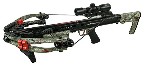 Killer Instinct FURIOUS 370 FRT Crossbow (2017 Model) with TriggerTech Frictionless Release Technology