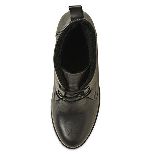 de Gris gris mujer Piel Shoes Evita Botas para xCOng0Y