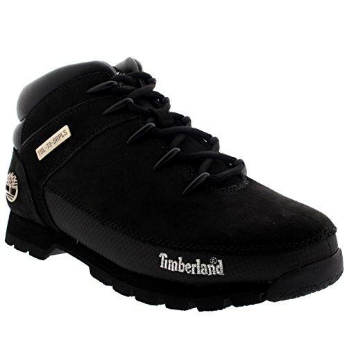Timberland Men's Euro Sprint Hiker Boots 44.5 EU Black