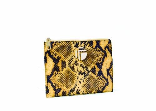 Trina Rita Large Envelope, Tan, Bags Central