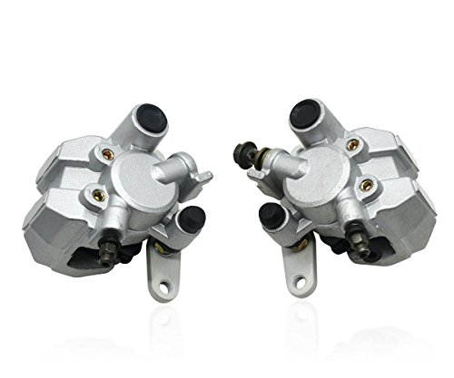 Karbay Front Brake Caliper Set For HONDA TRX 400EX TRX 300EX TRX 250EX,Yamaha Big Bear 400, YAMAHA GRIZZLY 660,SUZUKI EIGER 400,SUZUKI VINSON 500, SUZUKI OZARK 250 LTF 250 LT-F250 LEFT & RIGHT