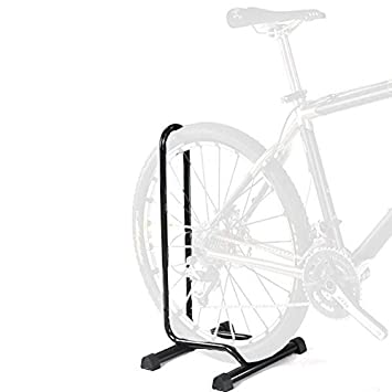 Adjustable Bike Floor Parking Rack Storage Stand Bicycle  sc 1 st  Amazon.com & Amazon.com : Adjustable Bike Floor Parking Rack Storage Stand ...