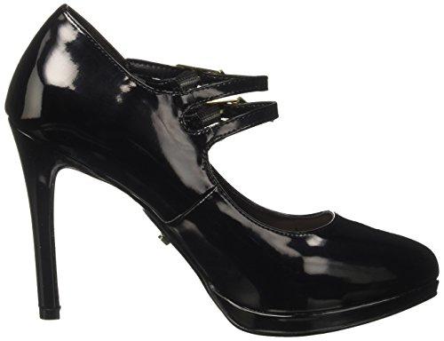 Gaudì Nero Tacco Scarpe Jane Perla Blasy Black Plateau con Mary Donna Col OqvOrw1fH